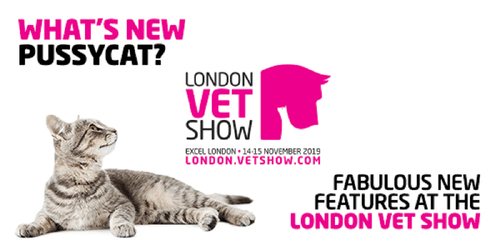 New features at the London Vet Show 🐱